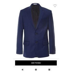 Calvin Klein boys suit jacket - size 10